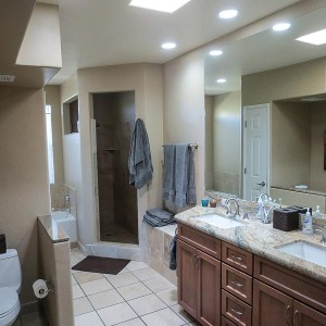 Additions & remodels - Master Bath (AFTER)