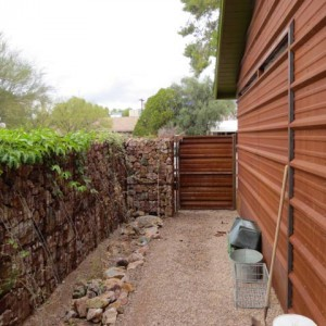 Additions & Remodels - Arizona Room Addition with Rock Wall