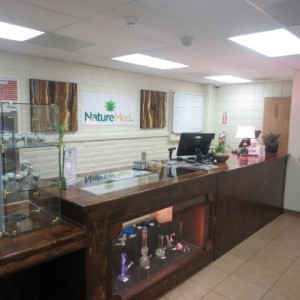 Nature Med Medical Marijuana Dispensary, Marana AZ (Tenant improvement)