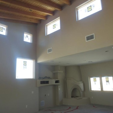 Custom home, Sabino Canyon - Interior view